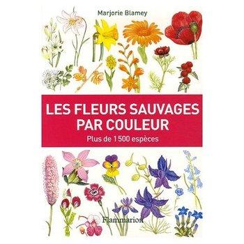 Un livre les fleurs sauvages par couleur le pouvoir for Les noms des fleurs
