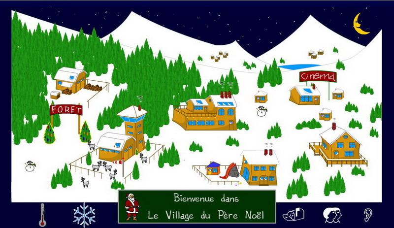 Village du Père Noël   Le pouvoir des fleurs